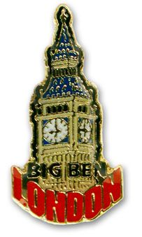 Big Ben pin badge