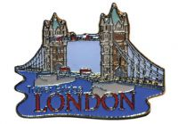 Tower Bridge pin badge