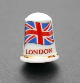 Union jack London thimble