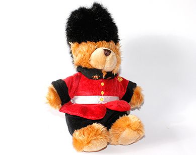 Queens guard teddy bear