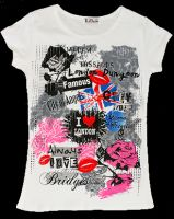White London fashion t-shirt