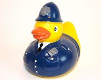 Policeman rubber duck