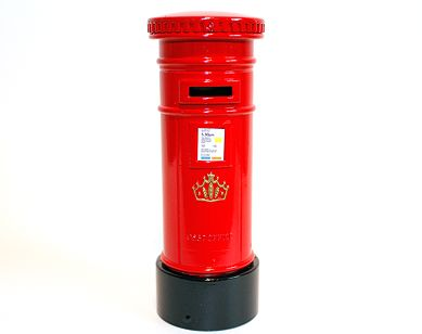 Postbox moneybank