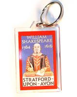 William Shakespeare keyring