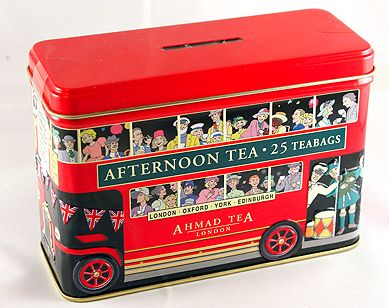 Double decker bus tea giftpack