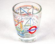 London Underground shot glass