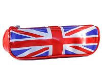 PVC union jack pencil case