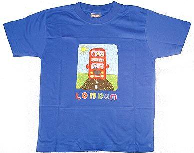 London bus childs t-shirt