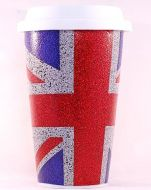 Union Jack thermal mug