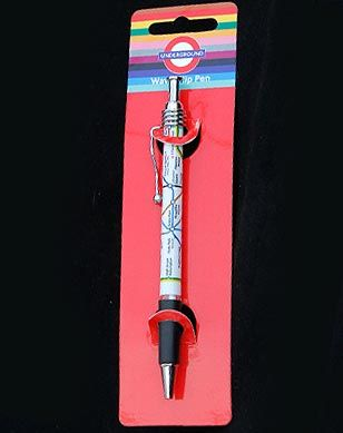 London Underground ballpoint pen