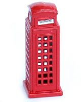 Miniature diecast telephone box