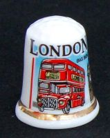 London bus thimble