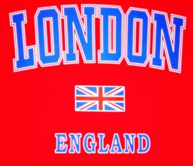 London/union jack t-shirt