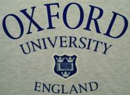 Oxford University t-shirt