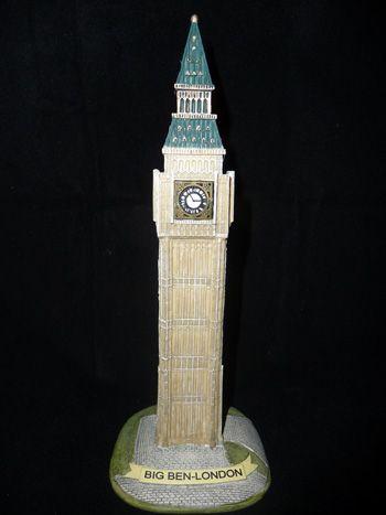 Big Ben resin ornament
