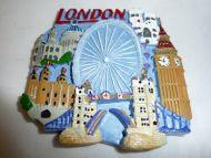 London multiscene fridge magnet