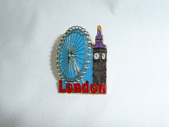 London Eye/Big Ben pin badge