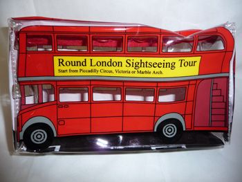 Double decker bus pencil case