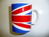 Large union jack mug